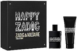 Parfumuri și produse cosmetice Zadig & Voltaire This is Him - Set (edt/50ml + sh/gel/100ml)
