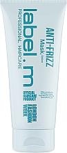 Parfumuri și produse cosmetice Mască cu efect de netezire pentru păr - Label.m Anti-Frizz Mask