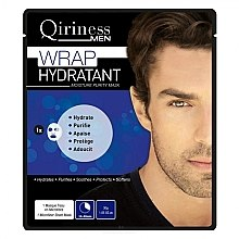 Parfumuri și produse cosmetice Mască hidratantă pentru bărbați - Qiriness Wrap Hydratant Moisture Purity Mask