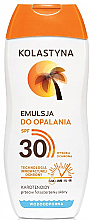 Parfumuri și produse cosmetice Emulsie de corp SPF 30 - Kolastyna Suncare Emulsion SPF 30