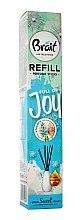 "Parfumuri și produse cosmetice Difuzor de aromă ""Hyacinth"" - Brait Home Sweet Home Refreshing Sticks Full of Joy (rezervă)"