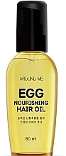 Parfumuri și produse cosmetice Ulei nutritiv pentru păr - Welcos Around Me Egg Nourishing Hair Oil
