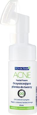 Spumă de curățare - Novaclear Acne Facial Foam