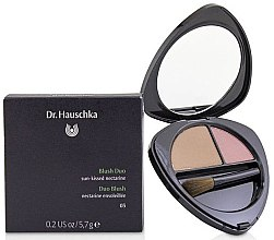 Parfumuri și produse cosmetice Fard de obraz - Dr. Hauschka Blush Duo