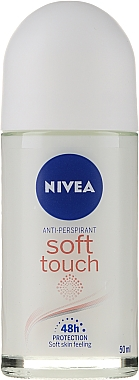 Deodorant - Nivea Women Roll-On Soft Touch