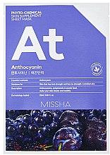 "Parfumuri și produse cosmetice Mască din țesut ""Lifting"" - Missha Phytochemical Skin Supplement Sheet Mask Anthocyanin/Lifting"
