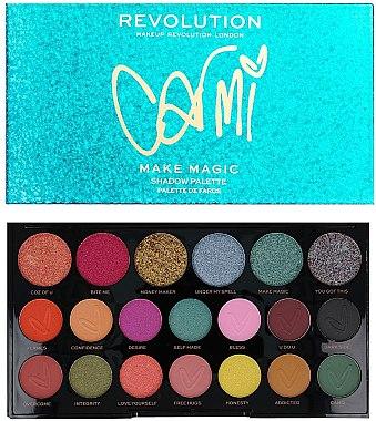 Paletă farduri de ochi - Makeup Revolution X Carmi Make Magic Eyeshadow Palette