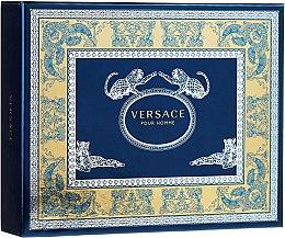 Parfumuri și produse cosmetice Versace Versace Pour Homme - Set (edt 50ml + sh/gel 50 ml + ash/balm 50 ml)