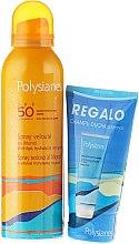 Parfumuri și produse cosmetice Set - Klorane Polysianes (spray/125ml + sh/shm/75ml)