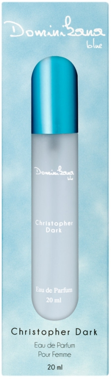 Christopher Dark Dominikana Blue - Apă de parfum (mini)