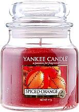 Parfumuri și produse cosmetice Lumânare în borcan din sticlă - Yankee Candle Spiced Orange