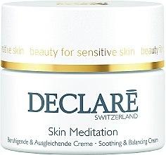 Parfumuri și produse cosmetice Cremă de față - Declare Skin Meditation Soothing & Balancing Cream
