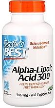 Parfumuri și produse cosmetice Acid alfa lipoic, 300 mg - Doctor's Best Alpha Lipoic Acid