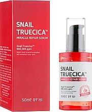 Parfumuri și produse cosmetice Ser regenerant cu mucină de melc negru - Some By Mi Snail Truecica Miracle Repair Serum