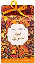 """Parfumuri și produse cosmetice Lumânare aromatică, în borcan din sticlă """"Neroli și Bergamotă"""" - Song of India Scented Candlee"""