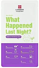 Parfumuri și produse cosmetice Mască de față - Leaders Daily Wonders What Happened Last Night? Radiance Revitalizing Mask