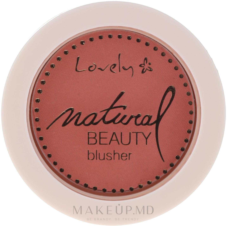 Fard compact de obraz - Lovely Natural Beauty Blusher — Imagine 01