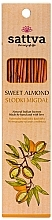 "Parfumuri și produse cosmetice Bețișoare parfumate ""Migdale dulci"" - Sattva Sweet Almond"
