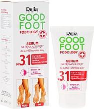 Parfumuri și produse cosmetice Сыворотка для стоп регенерирующая, увлажняющая - Delia Good Foot