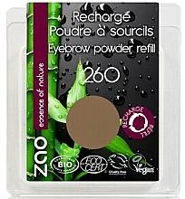 Parfumuri și produse cosmetice Fard pentru sprâncene - Zao Eyebrow Powder (rezervă)