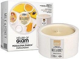 Parfumuri și produse cosmetice Lumânare aromată - House of Glam Milk & Honey Beauty Ritual Candle