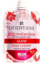 Parfumuri și produse cosmetice Mască de față - Orientana Glow Natural Face Mask Pink Cherry