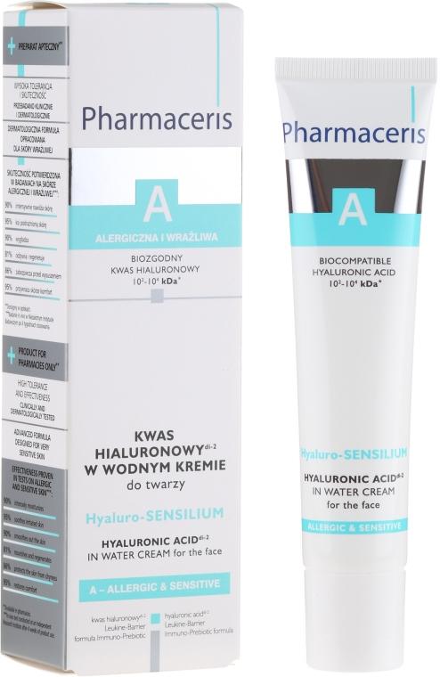 Cremă de față - Pharmaceris A Hyaluro-sensilium