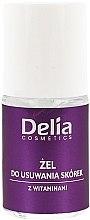 Parfumuri și produse cosmetice Gel cu vitamine pentru îndepărtarea cuticulelor - Delia Gel For Cuticles Removing With Vitamins