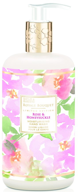 Săpun lichid pentru mâini - Baylis & Harding Royale Bouquet Rose and Honeysuckle Hand Wash