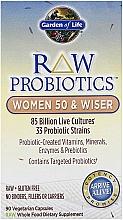 Parfumuri și produse cosmetice Probiotice pentru femei - Garden of Life Raw Probiotics Women 50 & Wiser