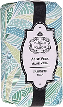 """Parfumuri și produse cosmetice Săpun natural """"Aloe"""" - Essencias De Portugal Natura Aloe Vera Soap"""