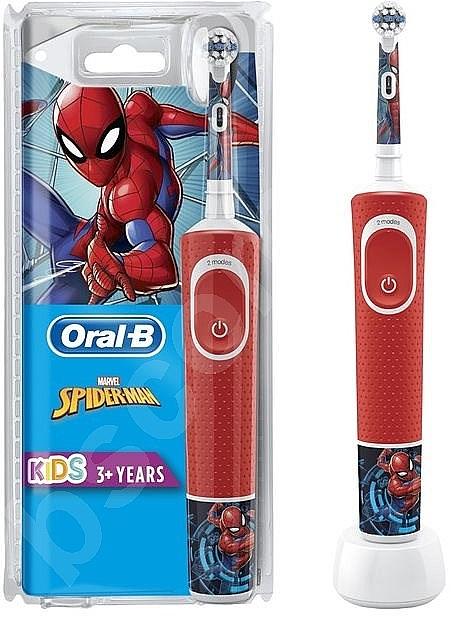 Periuță electrică de dinți - Oral-B Vitality Kids Spiderman — Imagine N1