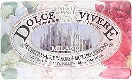 """Parfumuri și produse cosmetice Мыло """"Милан"""" - Nesti Dante Dolce Vivere Milano"""