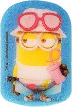 """Parfumuri și produse cosmetice Burete de baie pentru copii """"Minions"""", roz - Suavipiel Minnioins Bath Sponge"""