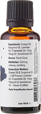 Ulei esesnțial - Now Foods Essential Oils Peaceful Sleep Oil Blend — Imagine N2