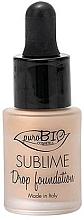 Parfumuri și produse cosmetice Fond de ten - PuroBio Sublime Drop Foundation