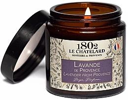 """Parfumuri și produse cosmetice Lumânare parfumată """"Lavanda din Provence"""" - Le Chatelard 1802 Lavender From Provence Scented Candle"""