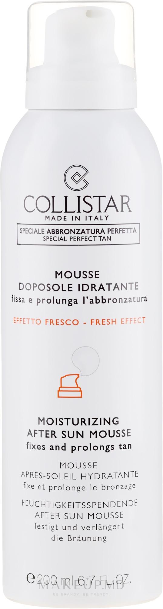 Mousse hidratant după plajă - Collistar Mousse Doposole Idratante — Imagine 200 ml