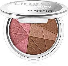 Parfumuri și produse cosmetice Bronzer pentru față - Lirene Shiny Touch Mineral Bronzer & Blush