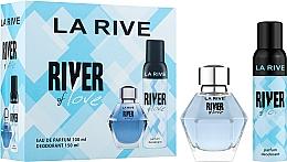 Parfumuri și produse cosmetice La Rive River Of Love - Set (edp/100ml + deo/150ml)