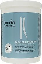 """Parfumuri și produse cosmetice Pudră decolorantă """"Creative"""" - Londa Professional Blondes Unlimited Creative Lightening Powder"""