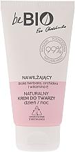 Parfumuri și produse cosmetice Увлажняющий крем для лица - BeBio Natural Day/Night Moisturizing Face Cream