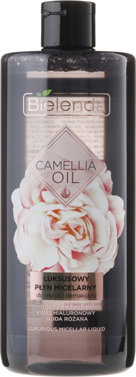 Apă micelară - Bielenda Camellia Oil Luxurious Micellar Liquid