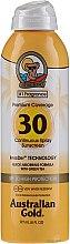 Parfumuri și produse cosmetice Spray cu protecție solară pentru corp - Australian Gold Premium Coverage Spf30
