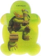 """Parfumuri și produse cosmetice Burete de baie pentru copii """"Țestoasele Ninja"""" Michelangelo 1 - Suavipiel Turtles Bath Sponge"""