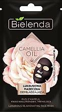 Parfumuri și produse cosmetice Mască de față - Bielenda Camellia Oil Luxurious Rejuvenating Sheet Mask
