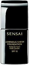 Parfumuri și produse cosmetice Fond de ten bază cu efect de strălucire - Kanebo Sensai Luminous Sheer Foundation