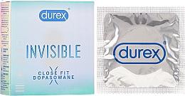 Parfumuri și produse cosmetice Prezervative, 3 bucăți - Durex Invisible Close Fit
