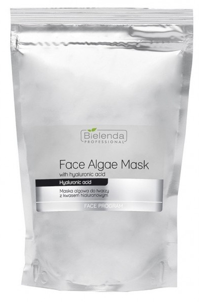 Mască de față alginat cu Acid hialuronic - Bielenda Professional Face Algae Mask with Hyaluronic Acid (rezervă)