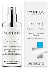 Parfumuri și produse cosmetice Mască cu efect de lifting pentru ochi - Symbiosis London Tightening & Resplendent Eye Mask